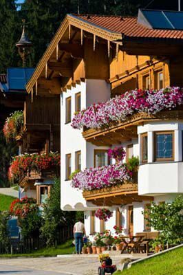 Austria_House_flowers_balcony